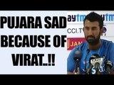 India vs Australia: Pujara says, we support Virat Kohli, cannot hear against him | Oneindia News