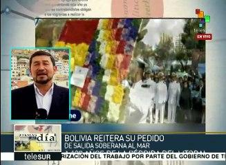 Bolivia defiende su derecho a una salida soberana al mar