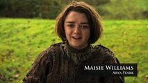 Game Of Thrones: Roast Joffrey - Maisie Williams Lists Her Hated Joffrey Moments (hbo)