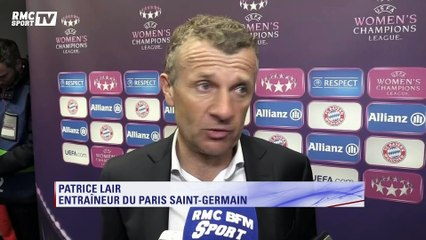 Ligue des Champions féminine – Patrice Lair : ''Mes équipe a eu une belle réaction''
