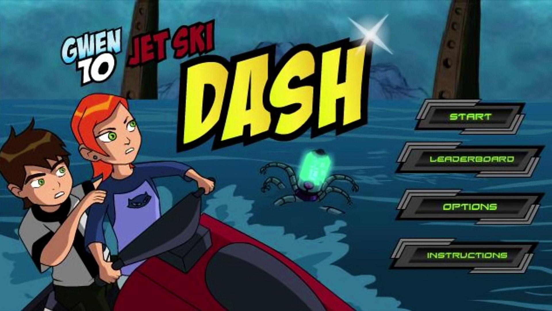 Ben 10 - Jet Ski Dash - Ben 10 Games