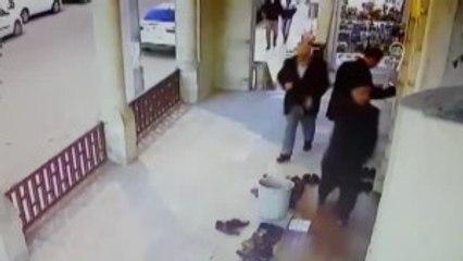 Iş Yerinden Hırsızlık Güvenlik Kamerasına Yansıdı
