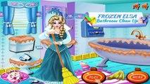 Disney Frozen Games - Frozen Elsa Bathroom Clean Up – Best Disney Princess Games For Girls