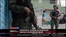 HONDURAS: GUERRA DE PANDILLAS OBLIGA A BLINDAR ESCUELAS.