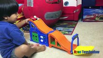 100+ cars toys GIANT EGG SURPRISE OPENING Disney Pixar Lightning McQueen kids video Ryan ToysReview