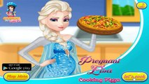 frozen games for girls -Elsa Cooking Pizza - games for girls