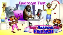 """Bedroom Test"" (French Lesson 23) CLIP – Kindergarten French, Jardin denfants, Jaime Fra"