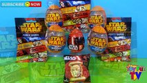 Star Wars Surprise Eggs & Blind Bags: Clone Wars, Angry Birds, Fighter Pods SURPRISE UNBOX
