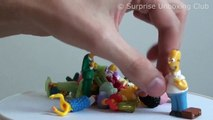 GIANT SIMPSONS Play Doh Surprise Egg with The Simpsons Lego Minifigures Series 2 // TUYC