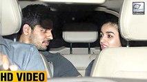 Sidharth Malhotra & Alia Bhatt Watch 'Phillauri' Together