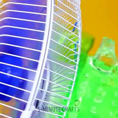 Cool DIY air conditioner to survive hot days ☀️