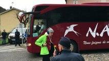 Crash de la Germanwings : les familles de victimes arrivent à Digne