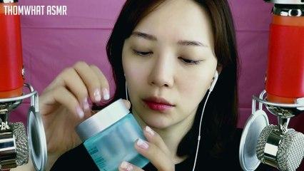 Doing My Makeup asmr (Binaural) 한국어 ASMR 생얼부터 하는 셀프메이크업 2탄