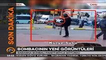 #SONDAKİKA İstanbulda babasına bombalı paket götüren bombacı oğulun yeni görüntüleri