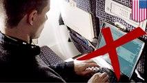Siaga teroris, Amerika melarang barang elektronik di kabin pesawat - Tomonews