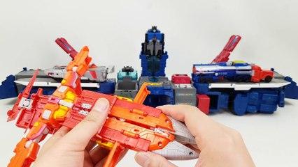 Transformers Titans Return Optimus Prime Sentinal Prime Megatron 3 Combo Vehicle 트랜스포머 타이탄리턴 옵티머스 프라임 센티널 프라임 메가트론 3단 변신