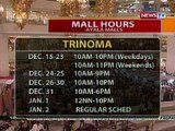 BT: Extended Mall Hours schedules