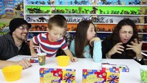 BEAN BOOZLED CHALLENGE! HILARIOUSLY GROSS JELLY BEANS GAME w/ Skylander Boy and Girl & Fam