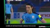 Edinson Cavani et l'Uruguay se font humilier par le Brésil de Neymar