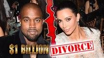 Kim Kardashian And Kanye West Heading to $300 Million Divorce?