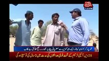 Animals and humans drinking water from the same well - People of Tharparkar, Sindh bashing PPP