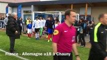 Match France-Allemagne U18 à Chauny