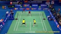 Craziest Badminton Volley Ever !