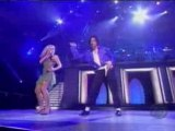 Mickael Jackson et Britney Spears