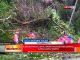 BT: Ilang bayan sa Leyte, binayo ng bagyong Quinta; Ilang lugar, binaha