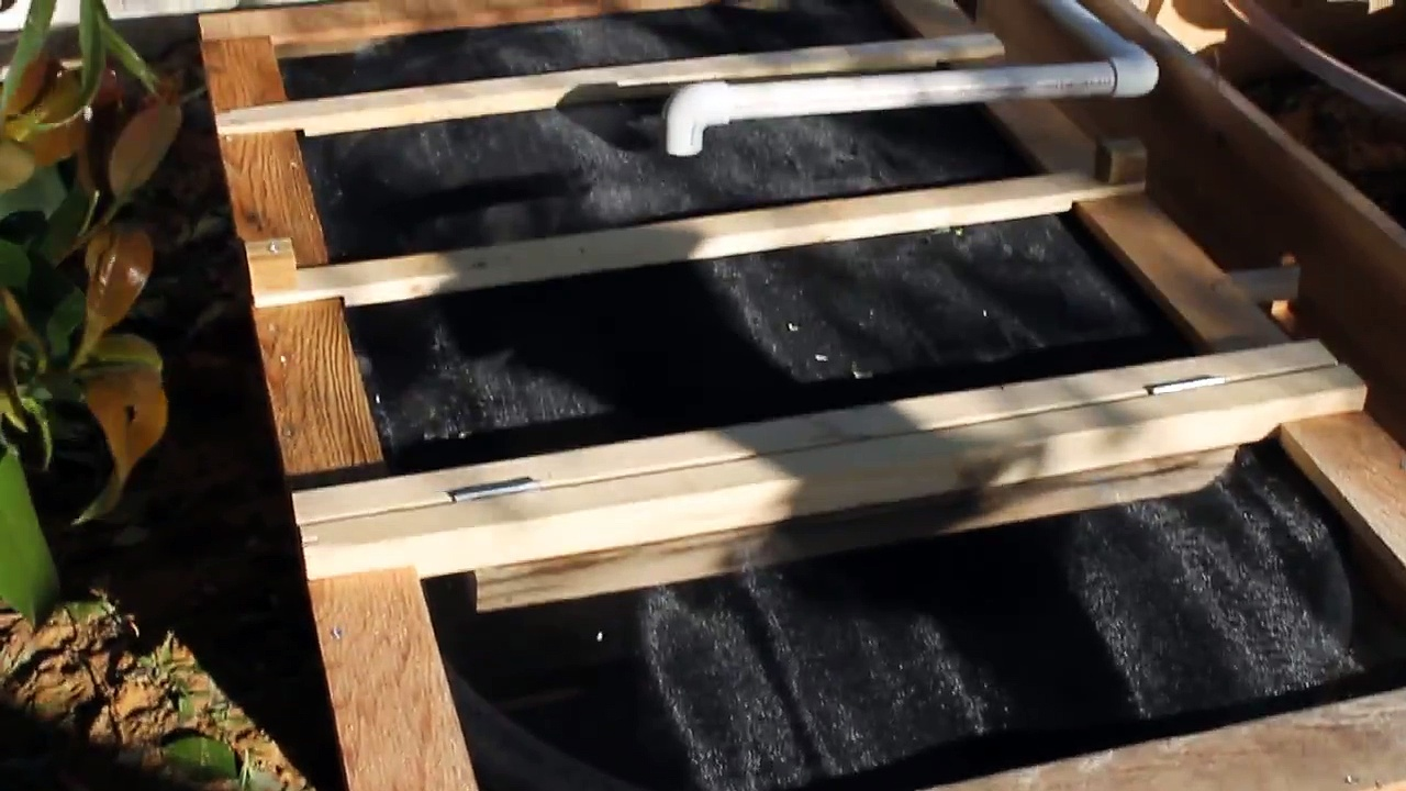 Construction of my Aquaponics Garden #2 – Fish Tank Cover