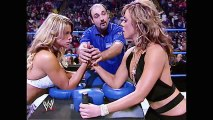 WWE Alumni  Dawn Marie and Jackie have an Arm Wrestling