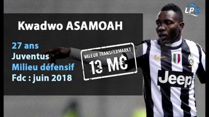 Fabrice Celeschi nous parle d'Asamoah