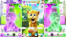 Talking Tom Cat Talking Angela Talking Ginger Animals Reaction Compilation Funny Videos Ch