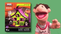 Halloween Houses Long - Timmy Builds Foam 3D Structures