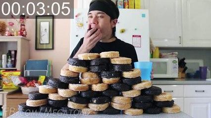 Ce gars va avaler 50 donuts