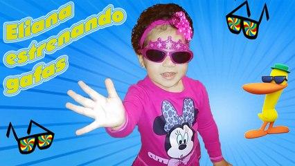 Eliana estrenando gafas | Eliana premiering glasses | Diario de Gabri y Eli
