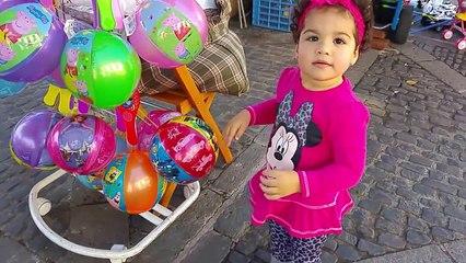 Eliana va de paseo con la familia | Eliana will ride with family | Diario de Gabri y Eli