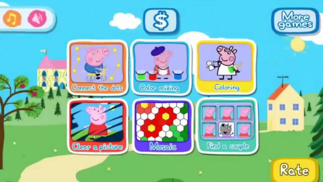 Peppa Pig Shopping | Peppa Pig Games | Peppa Pig Shopping Gameplay | Best Peppa app demo f