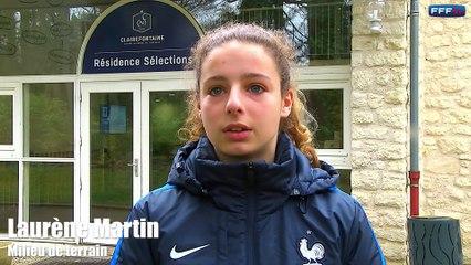 Une journée avec la sélection nationale U17 féminine de Sandrine Soubeyrand lors du match amical France-Allemagne (2-3) organisé à Clairefontaine, le mercredi 22 février.