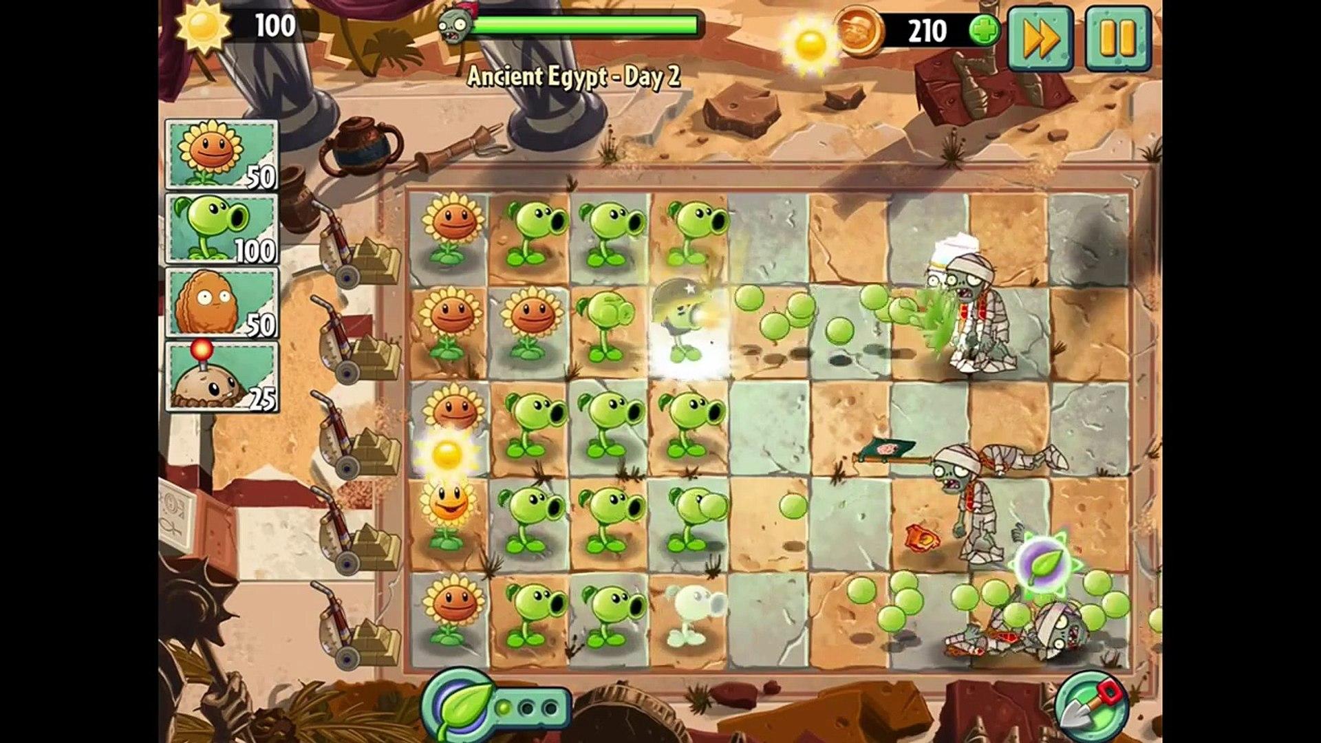 игра мультик приключеник овощи против зомби 2 игра египед часть 1 # 3