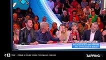 Cyril Hanouna - TPMP : Gilles Verdez et son odeur provoque un fou rire (vidéo)