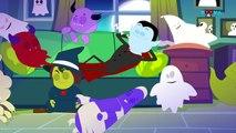 Twelve Little Ghosts | Scary Songs | Original Nursery Rhymes | Kids Video