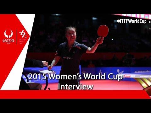 2015 Women's World Cup Interview – Li Jiao
