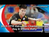 Insane European Table Tennis Rally