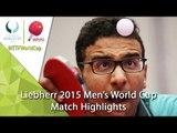2015 Men's World Cup Highlights: APOLONIA Tiago vs ASSAR Omar (Qual. Groups)