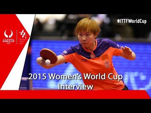 2015 Women's World Cup Interview – Zhu Yuling