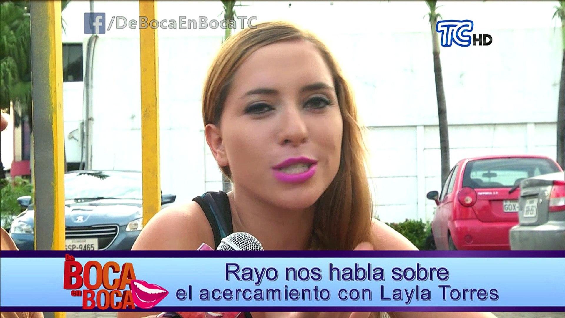 Rayo habla sobre el acercamiento con Layla Torres
