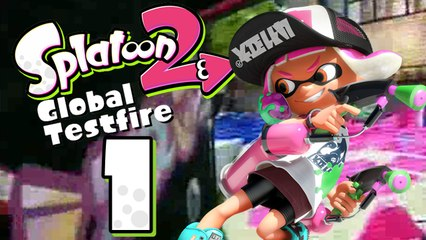 Lets Play - Splatoon 2 Global Testfire  [01] Das erste Match
