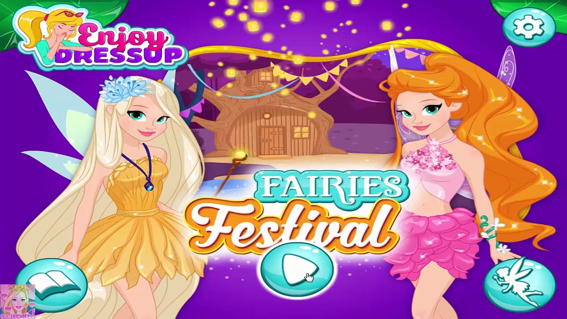 Fairies Festival - Fairies Dress Up Game for Girls