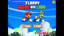 NINTENDO: Flappy Mario and Luigi Game Like Flappy Birds Game - Mario Bros. Games - Mario G
